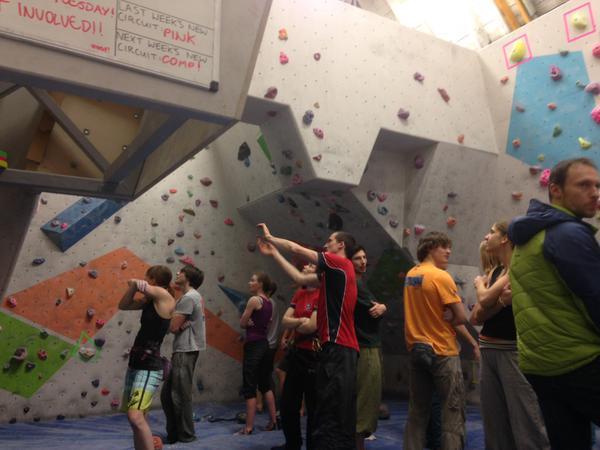 CSE Bouldering Wall
